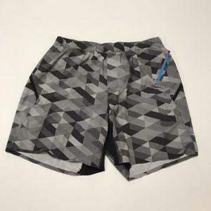 """Lululemon Surge Men's 5"""" Inseam Work Out Shorts L"""